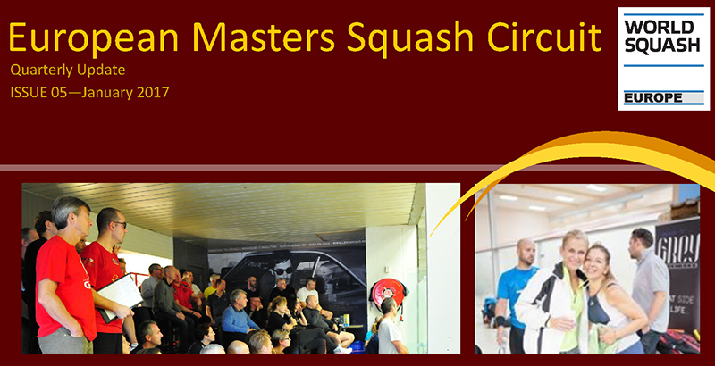 European Squash Masters Newsletter