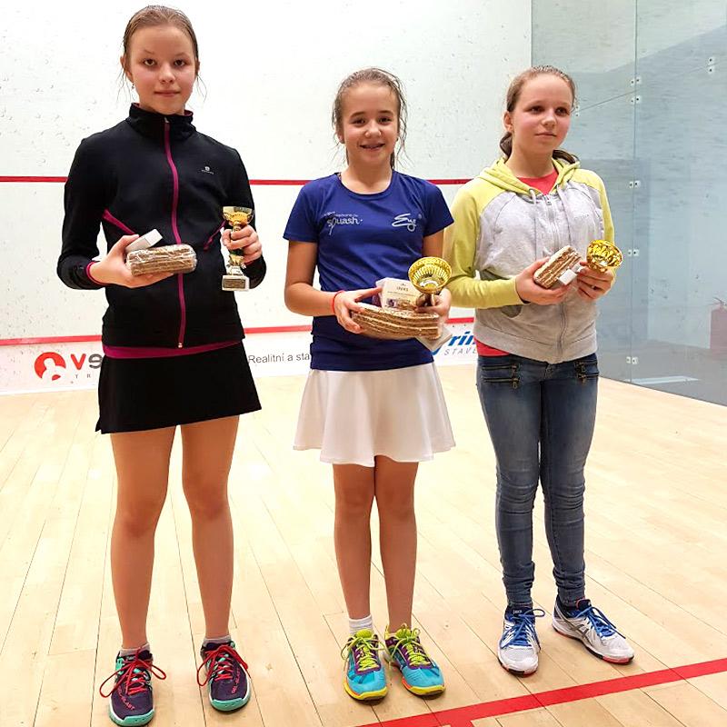 juniorský turnaj ve squashi kategorie A