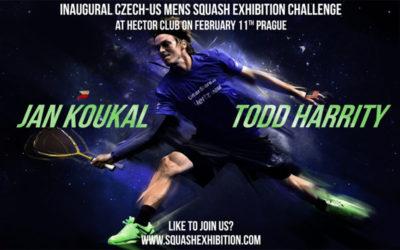 Squashová exhibice Česko – USA