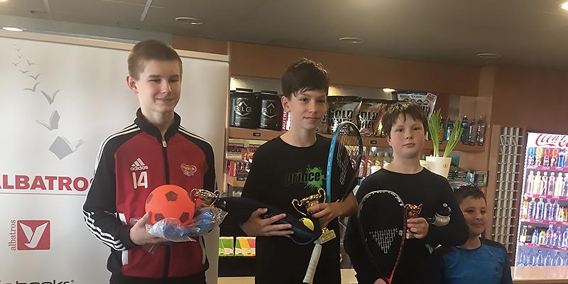 Juniorský turnaj ve squashi
