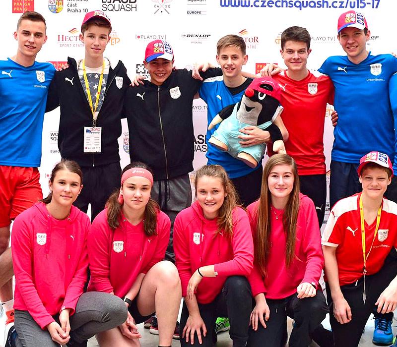 Mistrovství Evropy ve squashi U15/17
