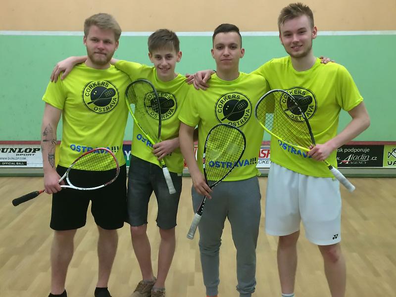 Squashový tým Corkers B