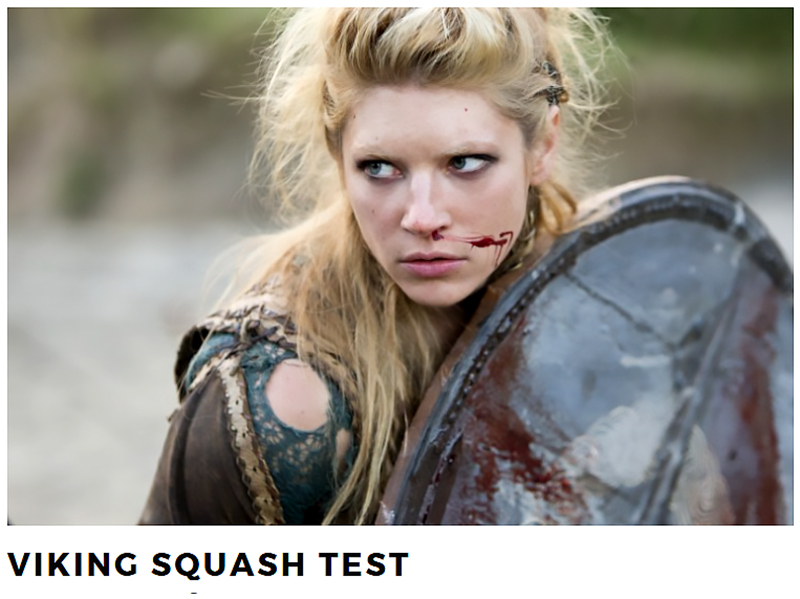 Viking Squash Test