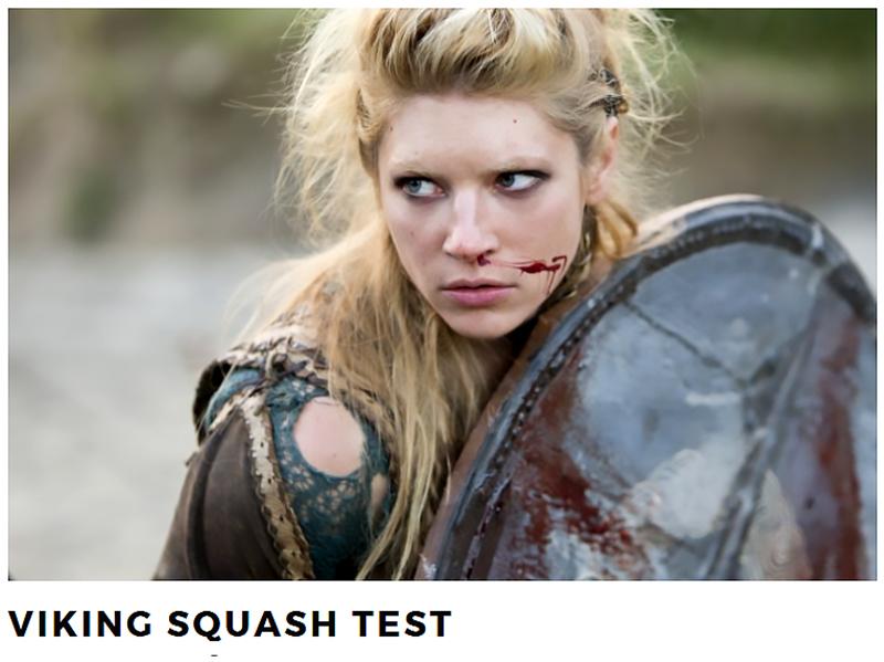 Viking Squash Test