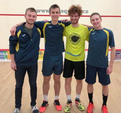 Squashové soutěže družstev