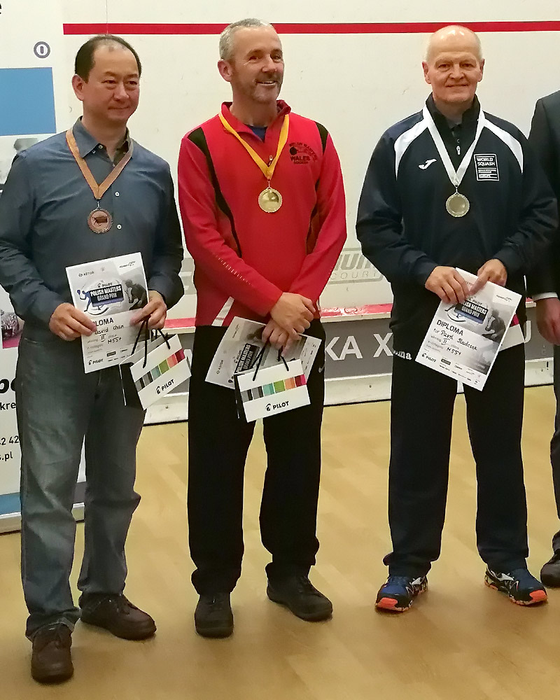 Pavel Sladecek Polish Squash Grand Prix