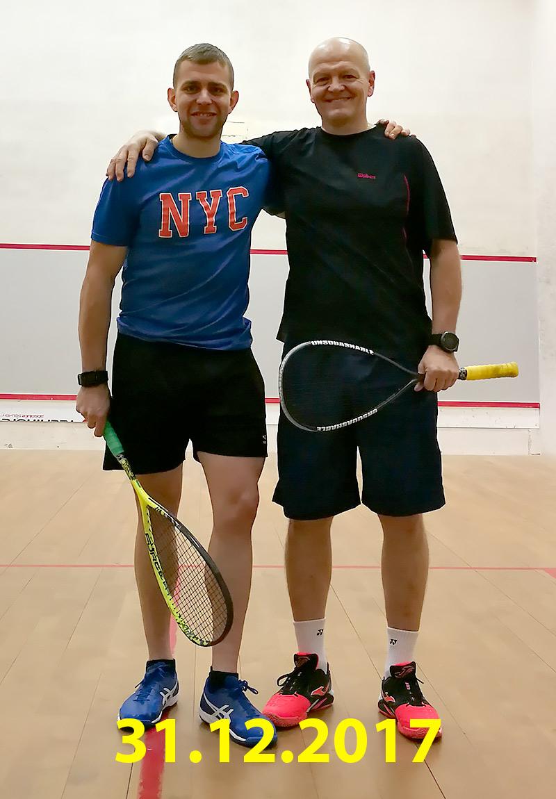 Squashové rozloučení se starým rokem