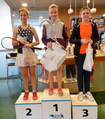 Vendula Boháčová vyhrála juniorský turnaj v Praze