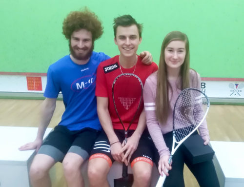 Tři medaile z Czech Squash Junior Open 2018