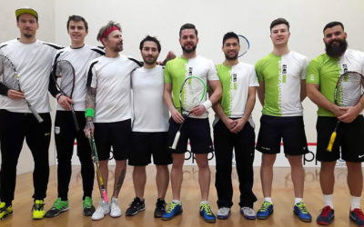 Squashová liga v Rakousku Viktor Byrtus
