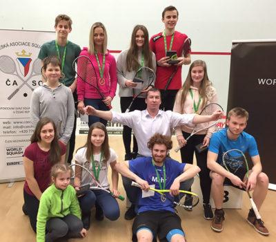 juniorské mistrovství ČR ve squashi