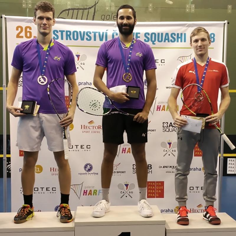 Jakub Solnický - třetí místo na MČR 2018