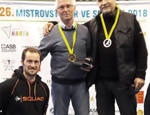 Přemysl Hrubý – třetí místo na MČR 2018 v kategorii M65+