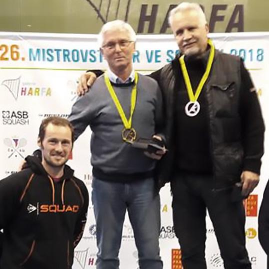 Přemysl Hrubý - třetí místo na MČR 2018