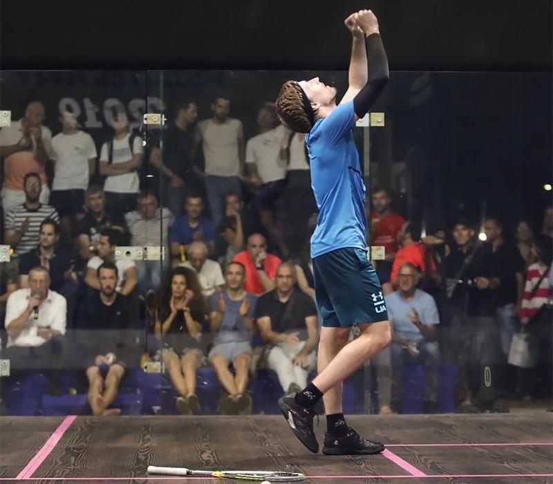 Kuba Solnický v semi na Tel Aviv Open 2019